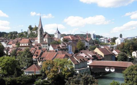 Paysage urbain de Baden. Copyright: zvg