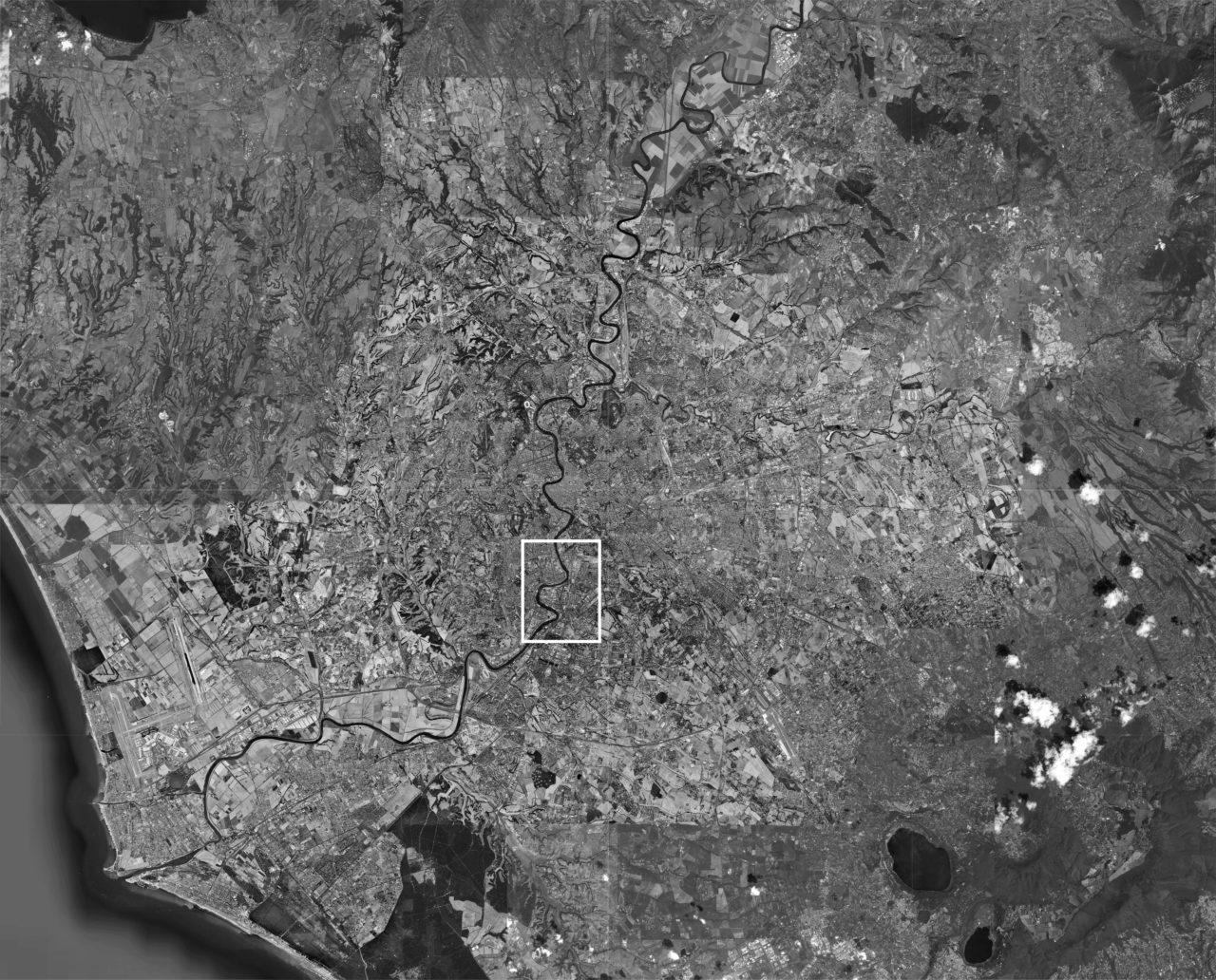 NL12: Den Tiber umschliessen – Massstäblichkeiten eines Flusses