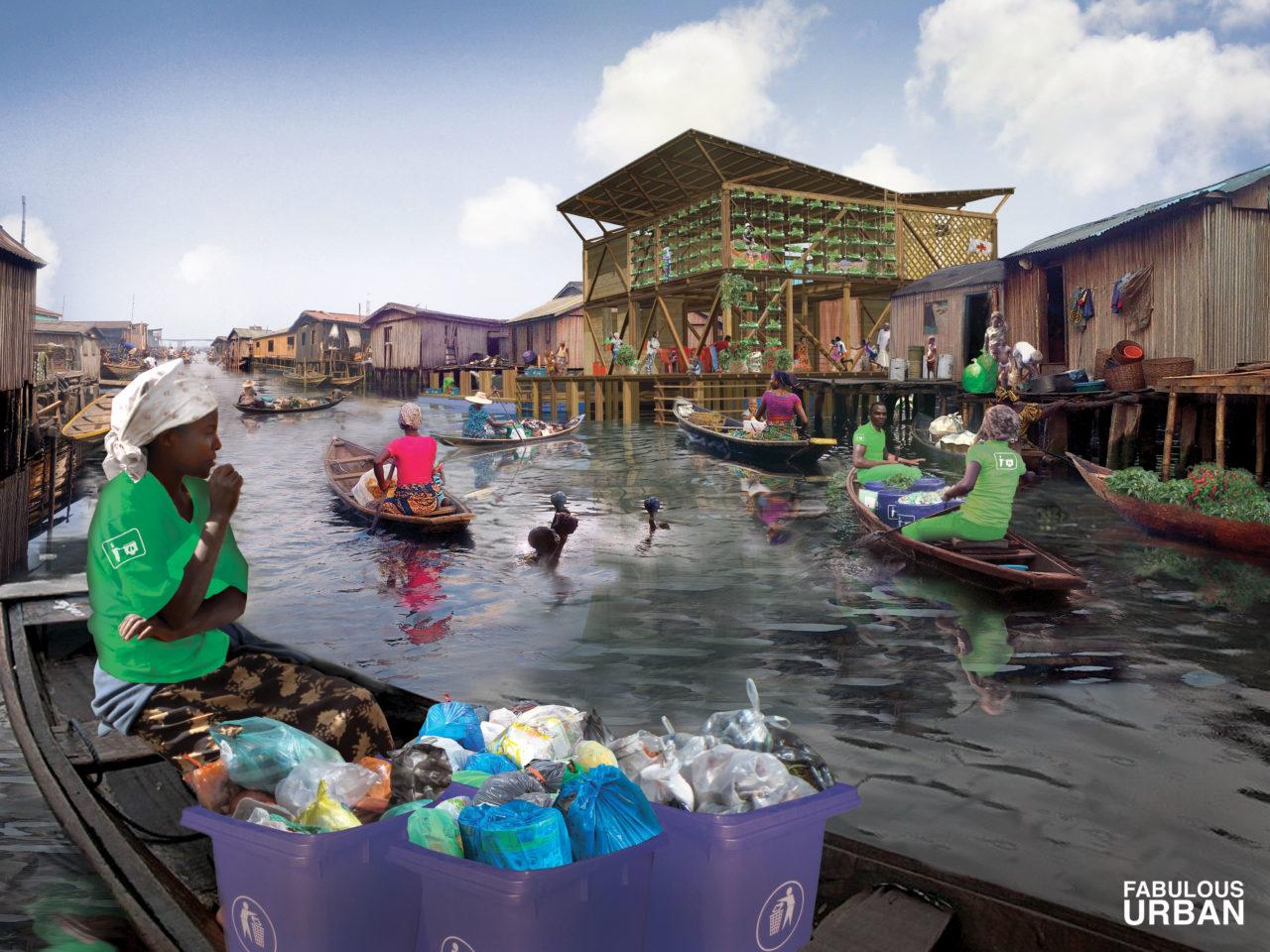 NL22: Neighborhood Hotspots and Waste Incubators as part of the Makoko Regeneration Plan