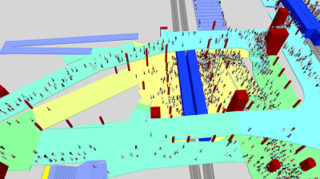 NL29: Simulation of complex pedestrian facilities: Case study of Lausanne main station