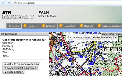 NL18: Nachhaltige Raumplanung mit PALM