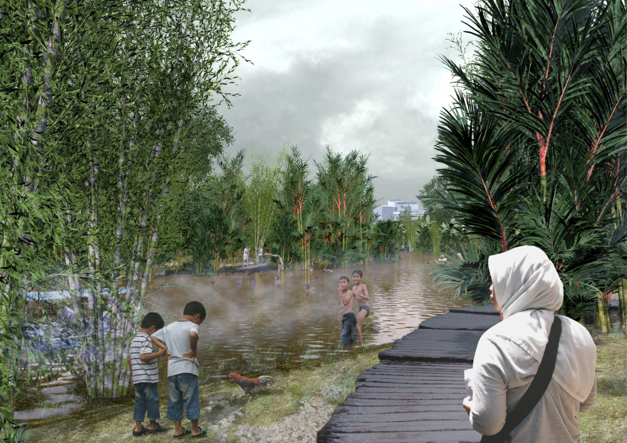 NL21: Designing the Ciliwung River: An urban landscape study of an Indonesian Kampung