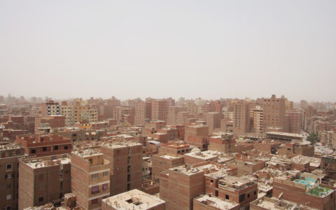 View of Ard El Liwa, Cairo