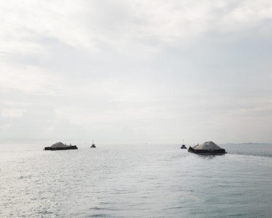 Image: Bas Princen, Straits (sand trade), 2013.