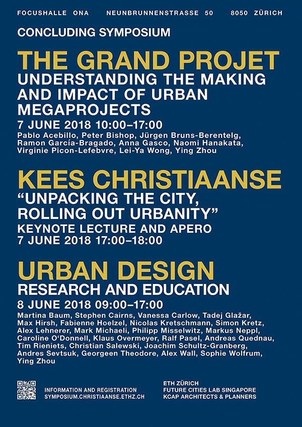 Kees Christiaanse: Unpacking the City Rolling out Urbanity