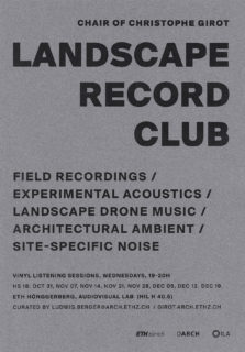 LANDSCAPE RECORD CLUB Girot