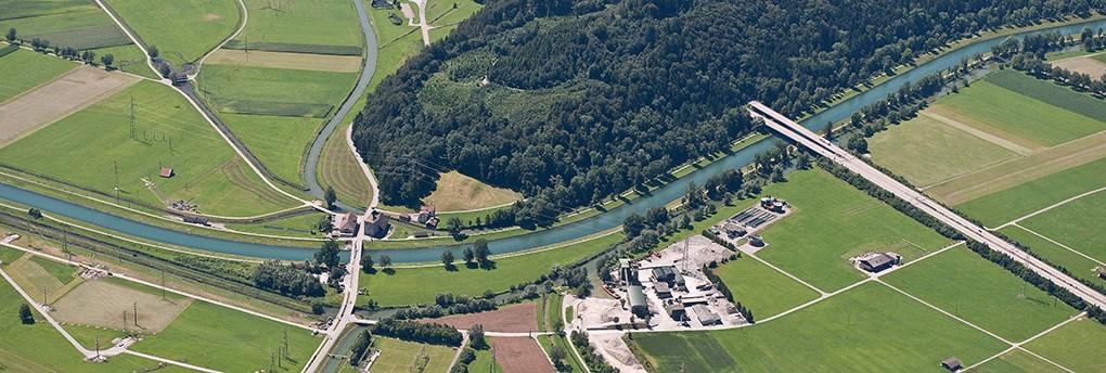 Ehemalige Festung, Linthkanal, alte Linth. © WSL