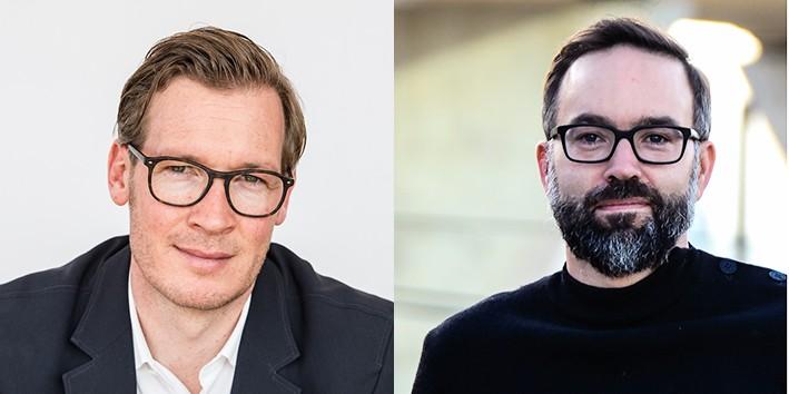 Joris Van Wezemael und Markus Nollert