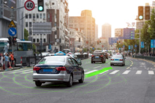 Automated Taxis would likely revolutionize urban mobility. Zapp2Photo/ shutterstock.com