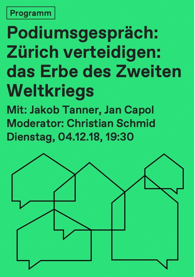Podiumsgespräch Zürich verteidigen