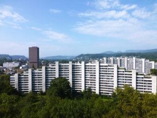 Ein Stadtteil in der Vertikalen: Siedlung Telli, Aarau. © ETH Zürich, ETH Wohnforum – ETH CASE