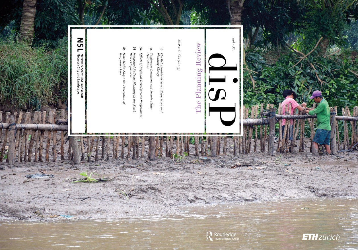 disP - The Planning Review, Volume 55, Issue 1, March 2019