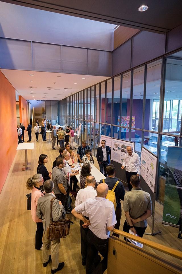 Impressionen von der 1. Mobilitaetskonferenz im Zentrum Paul Klee in Bern. (Manuel Lopez)