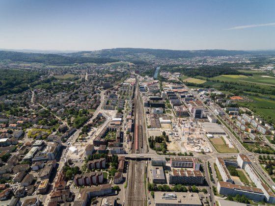 Transformation der Stadtlandschaft in Schlieren © Timon Furrer