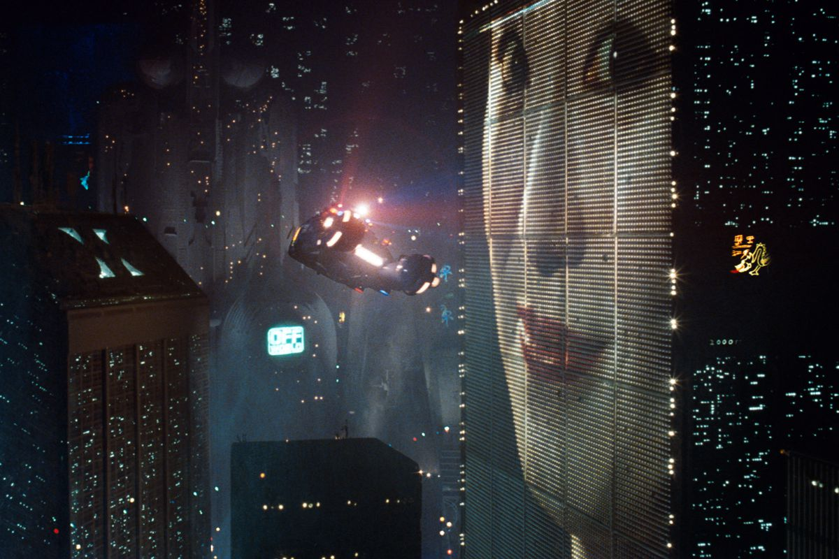 Figure 1 – The future in the past 1: Flying cars in Los Angeles 2019, from the film Blade Runner (1982). Source: https://www.vox.com/culture/2017/10/2/16375126/blade-runner-future-city-ridley-scott