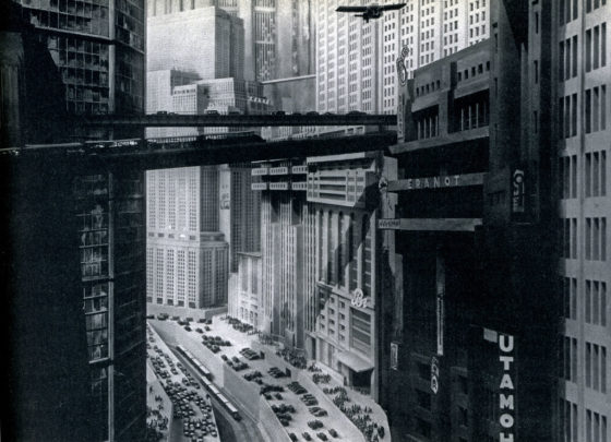 Figure 2 – The future in the past 2: Transport corridors in the future city of Metropolis, from the film Metropolis (1927). Source: https://www.filmaffinity.com/ie/movieimage.php?imageId=380195898
