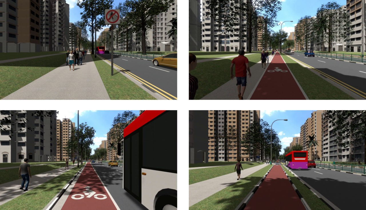 Cycling in Virtual Reality for Improved Bike Paths