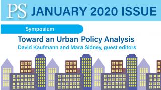 Urban Policy Analysis, David Kaufmann