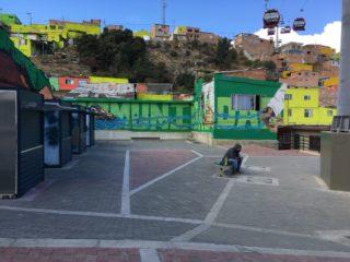 Habitarte intervention in Ciudad Bolivar, Bogotá