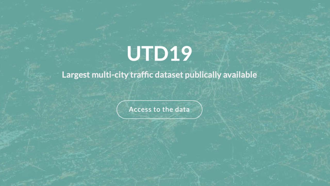 UTD19 Largest multi-city traffic dataset publically available