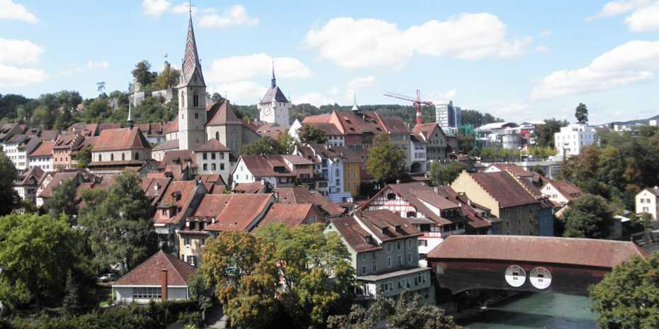 Baden im Kanton Aargau ist eine der untersuchten Städte in der Fallstudie. Bild: zvg