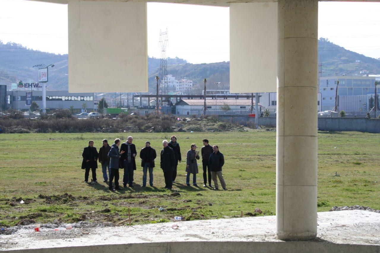 51N4E, A site meeting in Tirana, Albania, 2008. © 51N4E