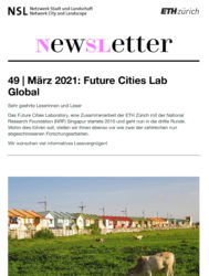 NSL Newsletter 49 Future Cities Lab Global Coverbild