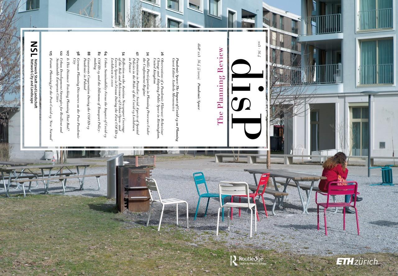 Cover disP 56/4, December 2020
