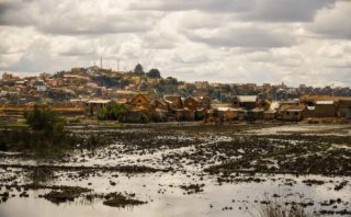 View of the agro-urban landscape of Antananarivo © by Rod Waddington