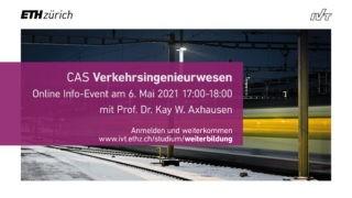 Infobild CAS Verkehrsingenieurwesen 2021