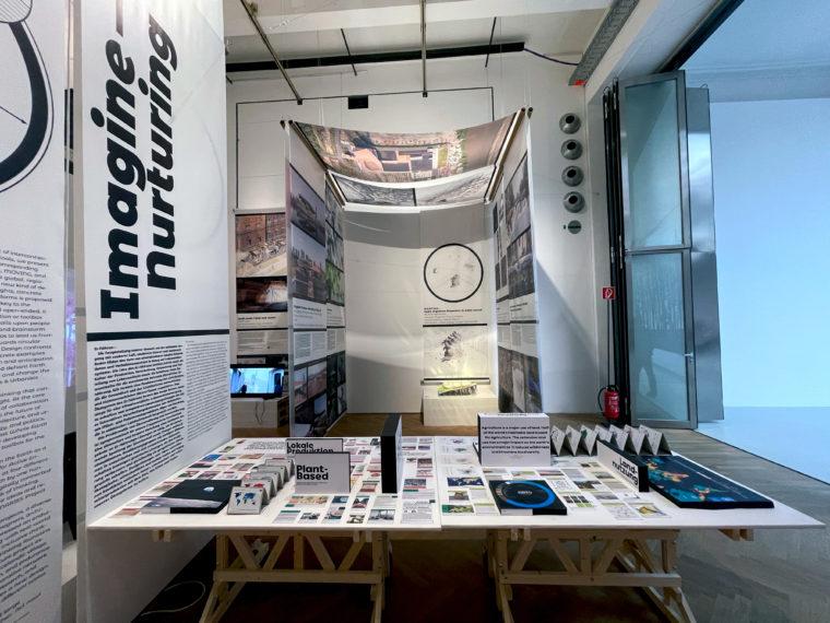 MAK Vienna Biennale for Change 2021, Imaginaries Section. Image Credits: Melanie Fessel